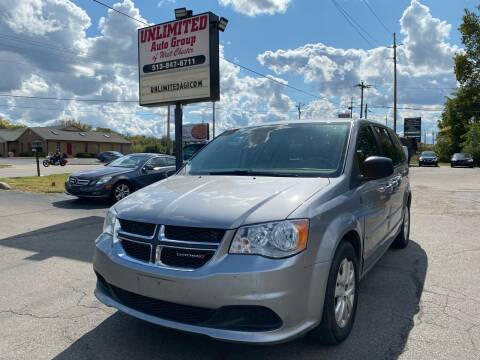 2015 Dodge Grand Caravan for sale at Unlimited Auto Group in West Chester OH