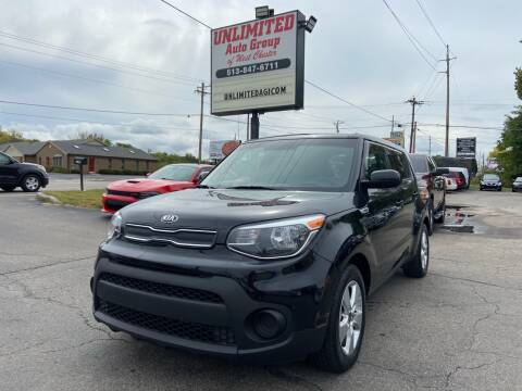 2019 Kia Soul for sale at Unlimited Auto Group in West Chester OH