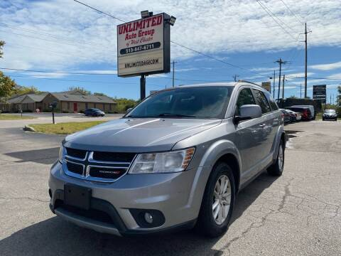 2017 Dodge Journey for sale at Unlimited Auto Group in West Chester OH