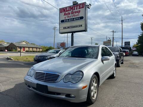 2003 Mercedes-Benz C-Class for sale at Unlimited Auto Group in West Chester OH