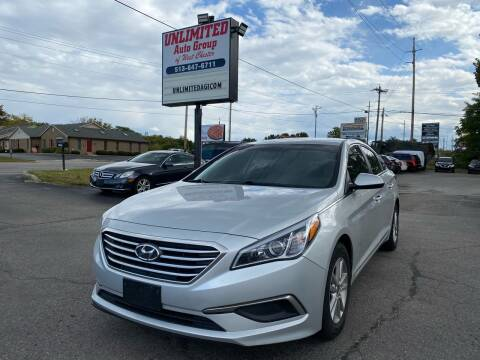 2017 Hyundai Sonata for sale at Unlimited Auto Group in West Chester OH