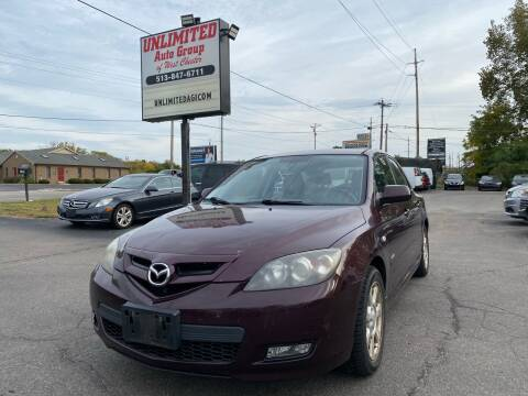 2007 Mazda MAZDA3 for sale at Unlimited Auto Group in West Chester OH