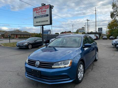 2017 Volkswagen Jetta for sale at Unlimited Auto Group in West Chester OH
