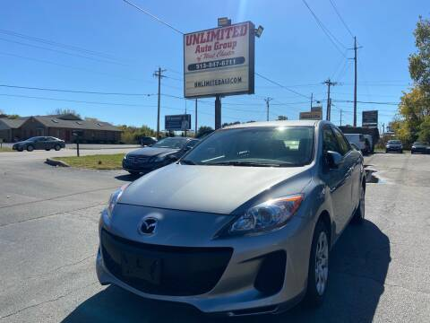 2013 Mazda MAZDA3 for sale at Unlimited Auto Group in West Chester OH