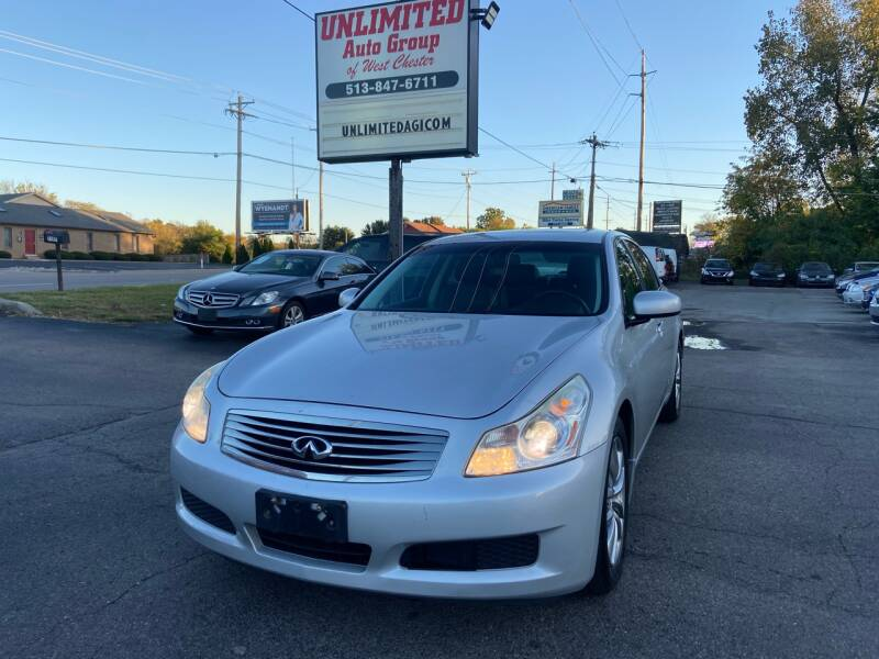 2007 Infiniti G35 for sale at Unlimited Auto Group in West Chester OH