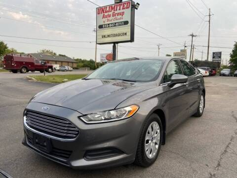2014 Ford Fusion for sale at Unlimited Auto Group in West Chester OH