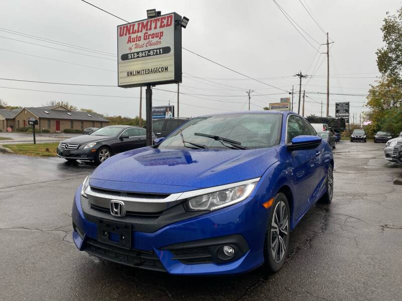 2017 Honda Civic for sale at Unlimited Auto Group in West Chester OH