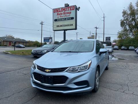 2018 Chevrolet Cruze for sale at Unlimited Auto Group in West Chester OH