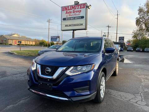 2019 Nissan Rogue for sale at Unlimited Auto Group in West Chester OH