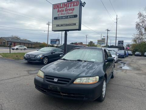 2001 Honda Accord for sale at Unlimited Auto Group in West Chester OH