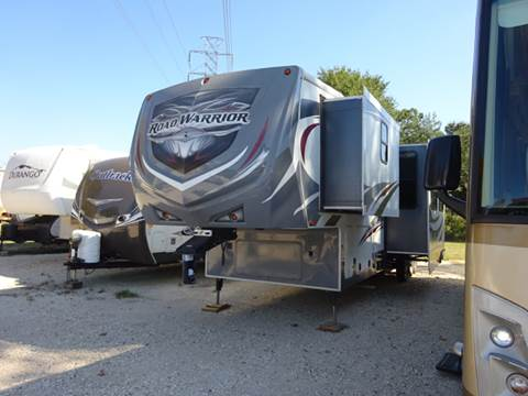 2013 Heartland Road Warrior 400 Toy Hauler