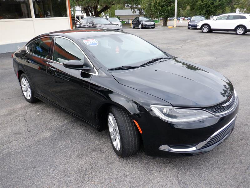 Chrysler 200 Limited >> 2015 Chrysler 200 Limited 4dr Sedan In Tallahassee Fl 1st
