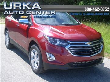 2018 Chevrolet Equinox for sale in Ludington, MI