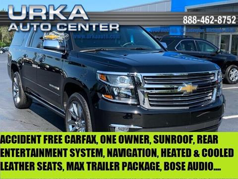 2019 Chevrolet Suburban for sale at Urka Auto Center in Ludington MI