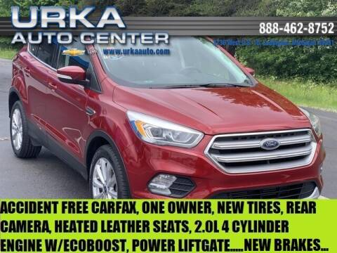 2017 Ford Escape for sale at Urka Auto Center in Ludington MI