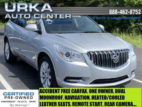 2017 Buick Enclave for sale at Urka Auto Center in Ludington MI