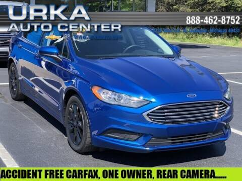 2017 Ford Fusion for sale at Urka Auto Center in Ludington MI