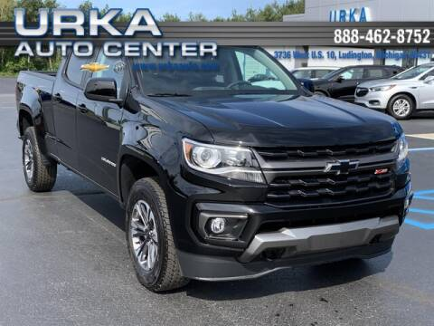 2021 Chevrolet Colorado for sale at Urka Auto Center in Ludington MI