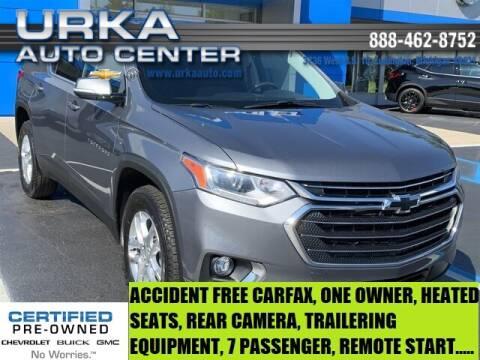 2019 Chevrolet Traverse for sale at Urka Auto Center in Ludington MI