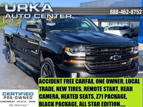 2017 Chevrolet Silverado 1500 for sale at Urka Auto Center in Ludington MI