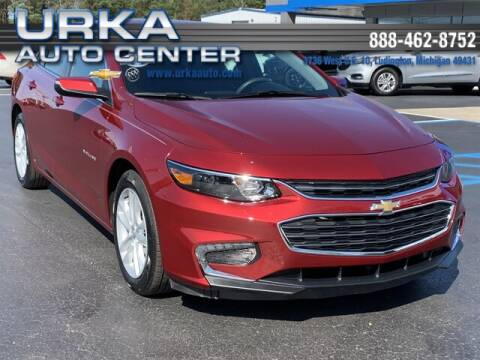 2018 Chevrolet Malibu for sale at Urka Auto Center in Ludington MI