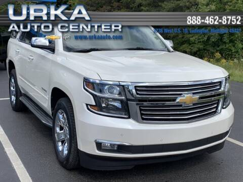 2015 Chevrolet Tahoe for sale at Urka Auto Center in Ludington MI