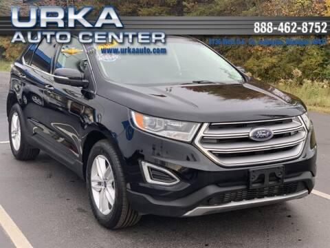 2017 Ford Edge for sale at Urka Auto Center in Ludington MI