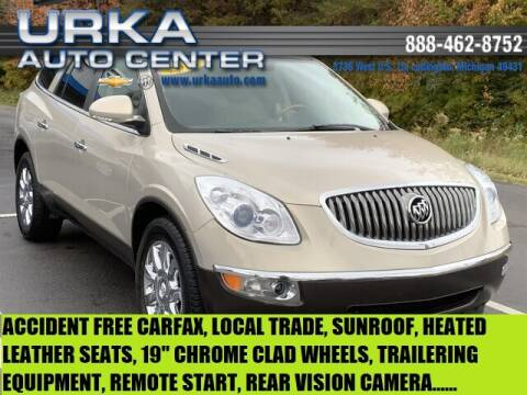 2012 Buick Enclave for sale at Urka Auto Center in Ludington MI