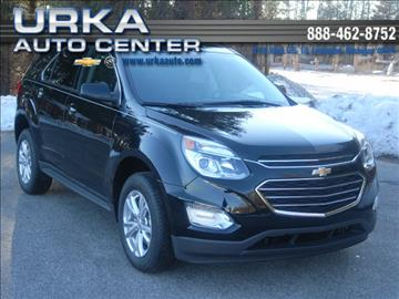 2017 Chevrolet Equinox for sale in Ludington, MI
