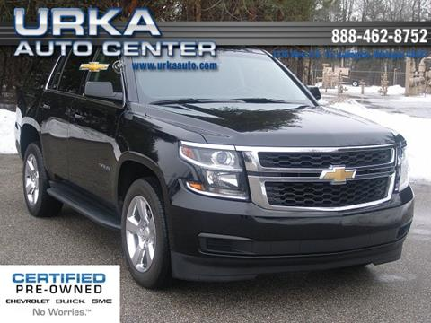 2016 Chevrolet Tahoe for sale in Ludington, MI