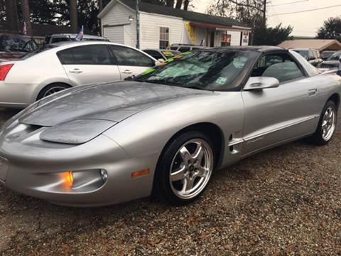 2000 Pontiac Firebird for sale at Advanced Imports in Lafayette LA