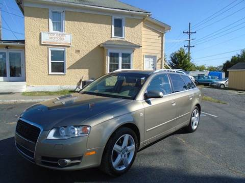 2005 Audi A4 for sale at Top Gear Motors in Winchester VA
