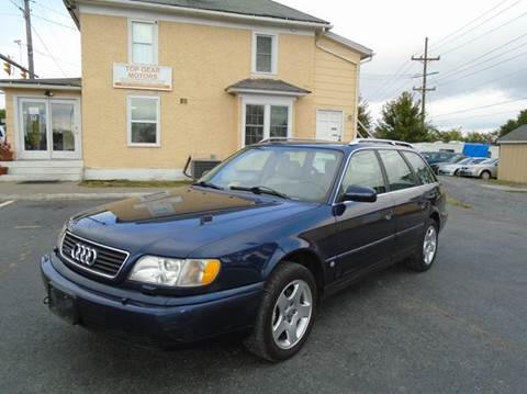 1998 Audi A6 for sale at Top Gear Motors in Winchester VA