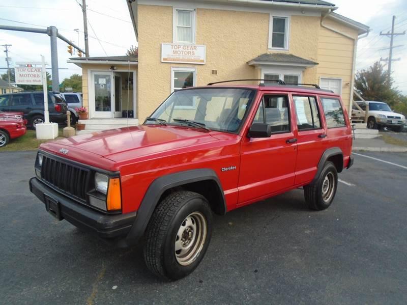 1996 jeep cherokee 4dr se 4wd suv in winchester va top for Top gear motors winchester va
