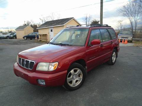 2002 Subaru Forester for sale at Top Gear Motors in Winchester VA