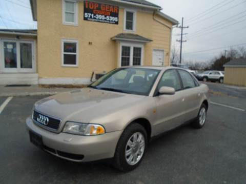 1998 Audi A4 for sale at Top Gear Motors in Winchester VA