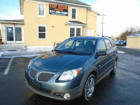 2006 Pontiac Vibe for sale at Top Gear Motors in Winchester VA