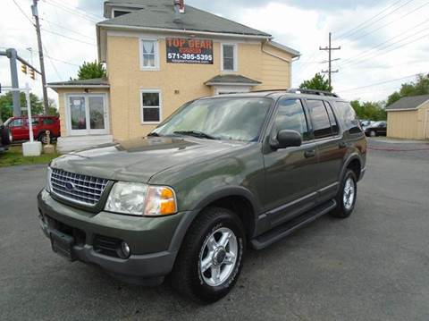 2003 Ford Explorer for sale at Top Gear Motors in Winchester VA