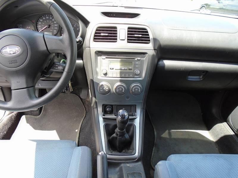 2007 Subaru Impreza Outback Sport Awd 4dr Wagon 25l F4 5m In