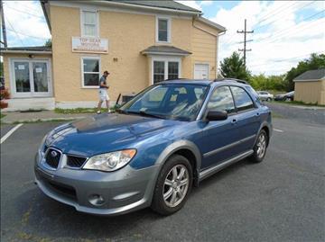 2007 Subaru Impreza for sale at Top Gear Motors in Winchester VA