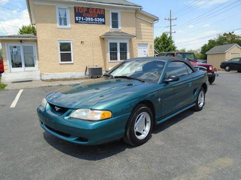 1997 Ford Mustang for sale at Top Gear Motors in Winchester VA