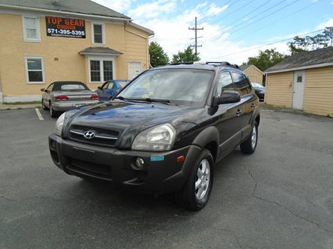 2005 Hyundai Tucson for sale at Top Gear Motors in Winchester VA
