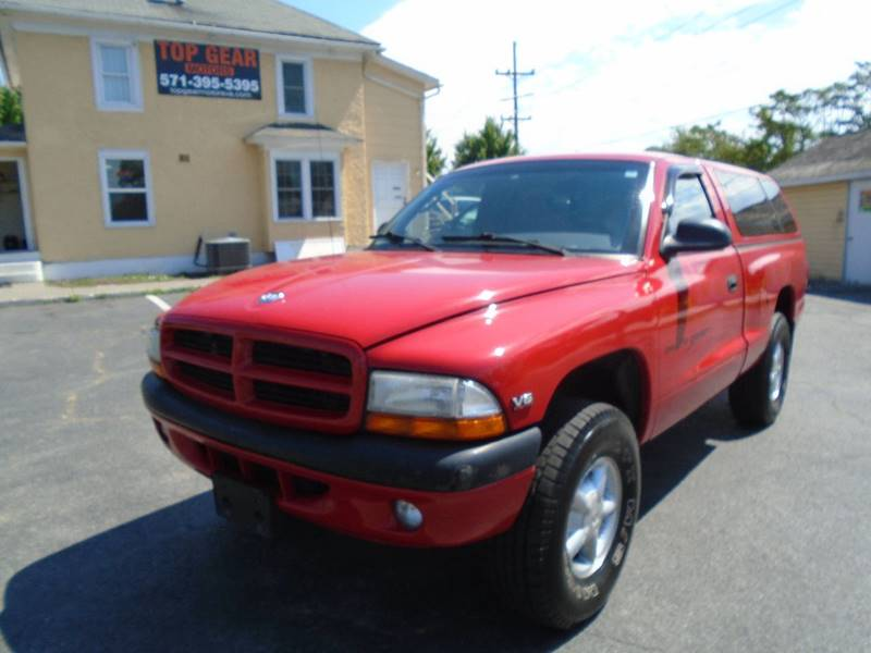 1998 dodge dakota 2dr sport 4wd standard cab sb in