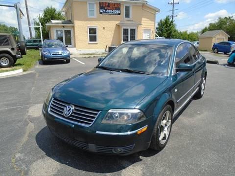 2001 Volkswagen Passat for sale in Winchester, VA