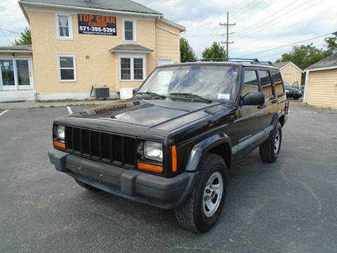1999 Jeep Cherokee for sale at Top Gear Motors in Winchester VA