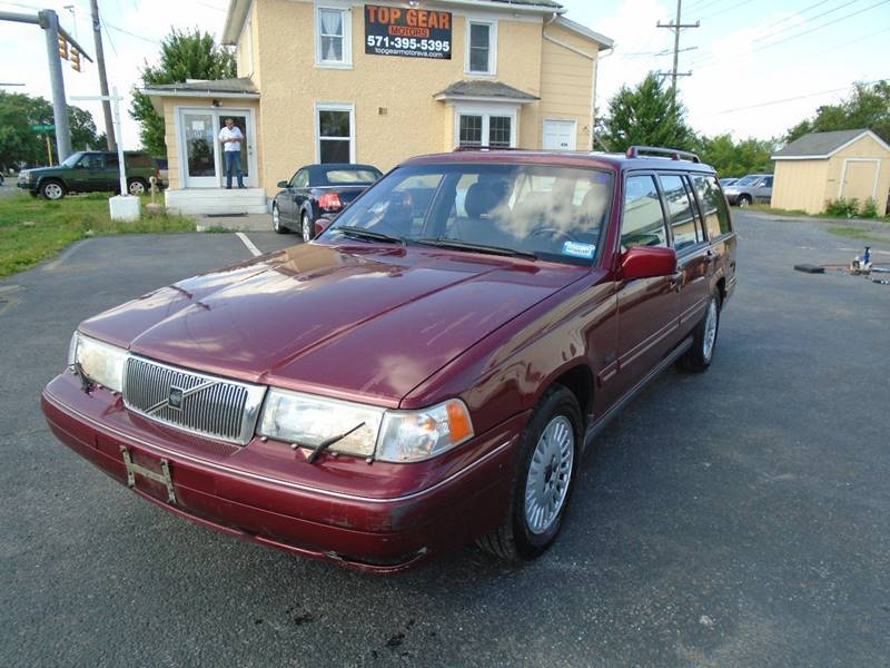1997 volvo v90 4dr wagon in winchester va top gear motors