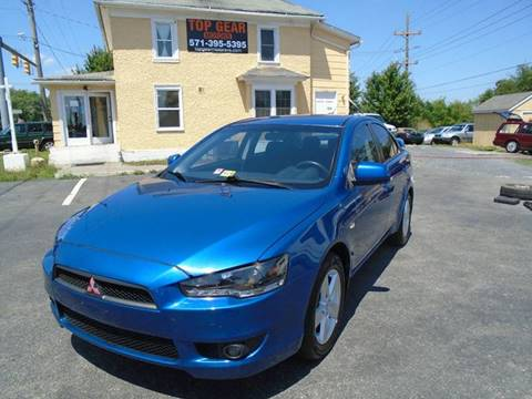 2009 Mitsubishi Lancer for sale at Top Gear Motors in Winchester VA
