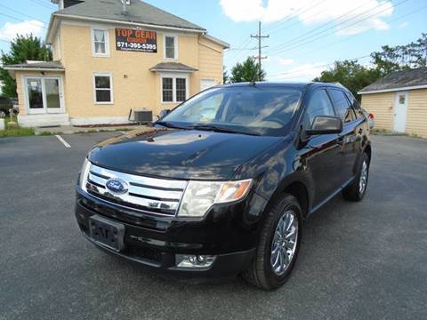 2007 Ford Edge for sale at Top Gear Motors in Winchester VA