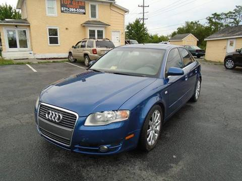 2006 Audi A4 for sale at Top Gear Motors in Winchester VA