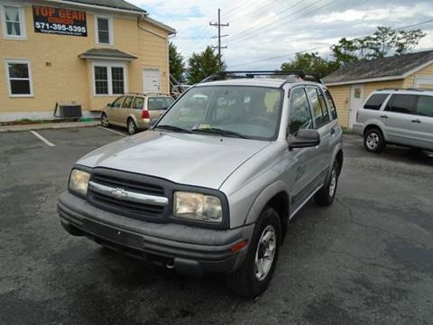 2001 Chevrolet Tracker for sale at Top Gear Motors in Winchester VA